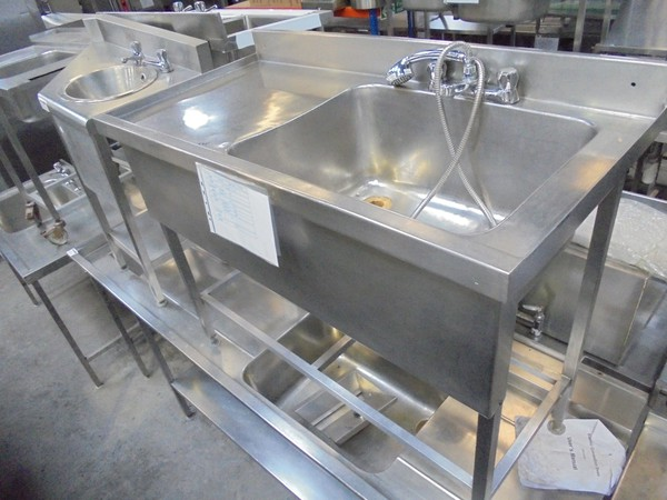 Pot wash dishwasher sink for sale UK