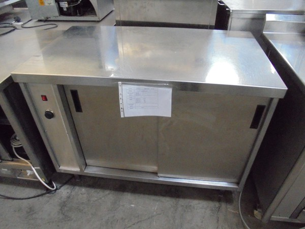 Used steel hot cupboard for sale