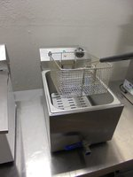Table top single fryer for sale