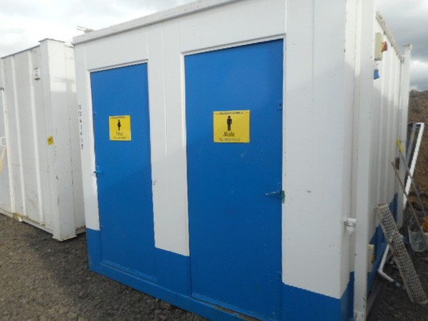 Used anti vandal toilet cabin