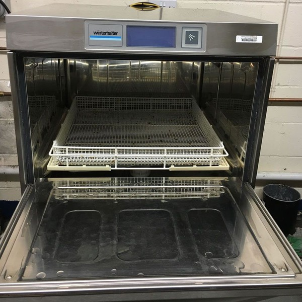 Catering glass washer with water softener for sale