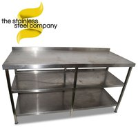 Secondhand steel table for sale