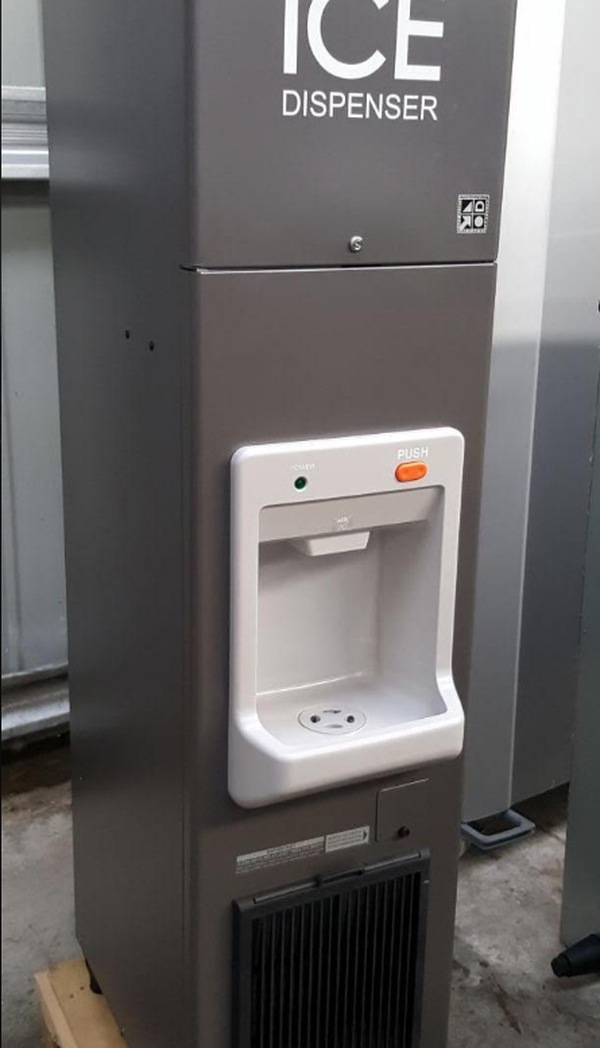 Commercial pub ice machine