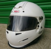 Bell Kart Helmet Size 55 CMR MSA Approved Under Sixteen Kart Helmet