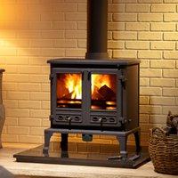Heavy duty multi fuel burner stove