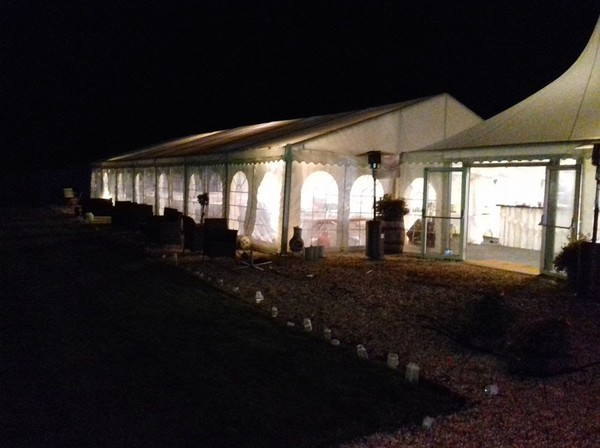 Used clear span marquee for sale