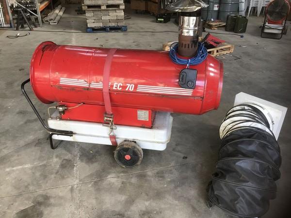 EC 70 Arcotherm Kerosne / Indirect Diesel Heater Spares or Repair