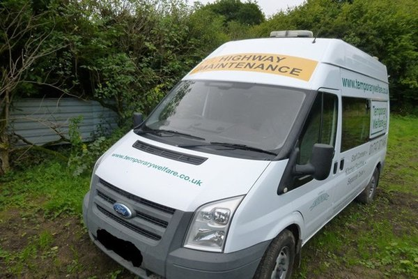 Self contained welfare van for sale