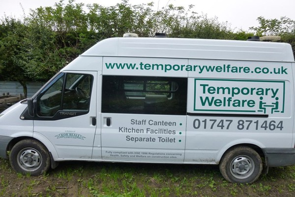 Used self contained welfare vans