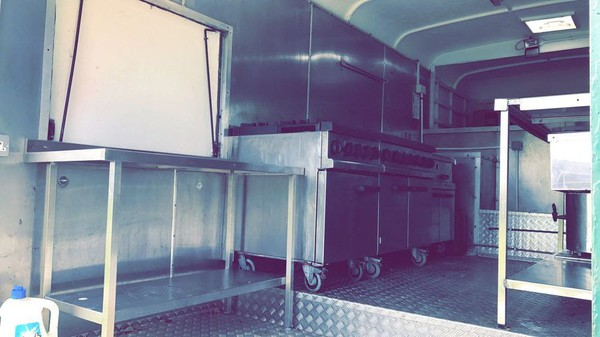 Vintage Catering Truck  For Sale