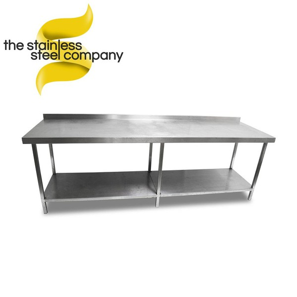 Used 2.4m steel table