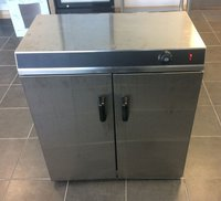 Used double door hot cupboard