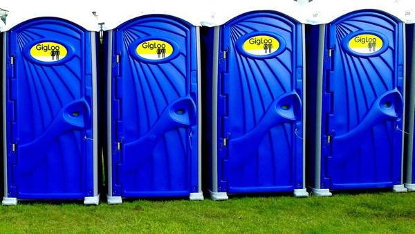 Festival toilet for sale