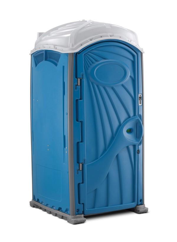 Single bay portable toilet