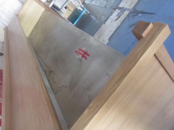 Secondhand wooden bar unit