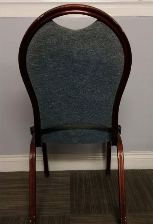 Stackable banqueting chairs