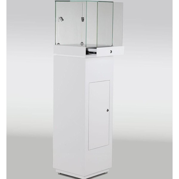 Gloss White Jewellery Display Cabinets