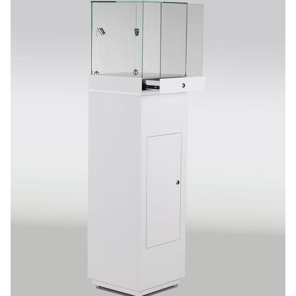 Gloss White Jewellery Display Cabinets