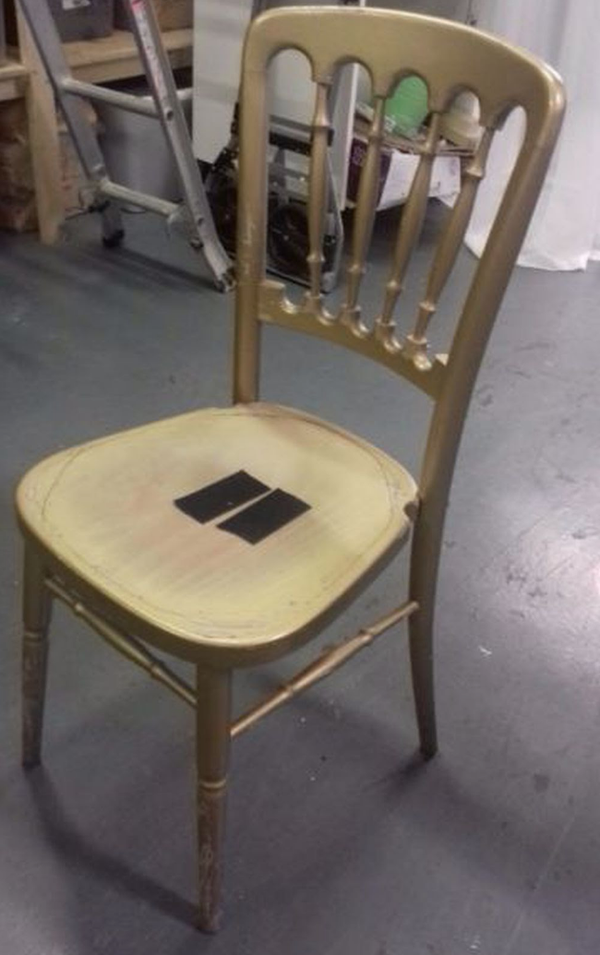 70x gold cheltenham chairs leven fife