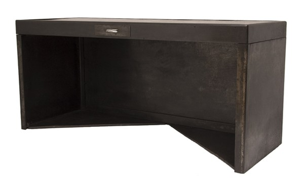 French Industrial Metal Desk c.1930