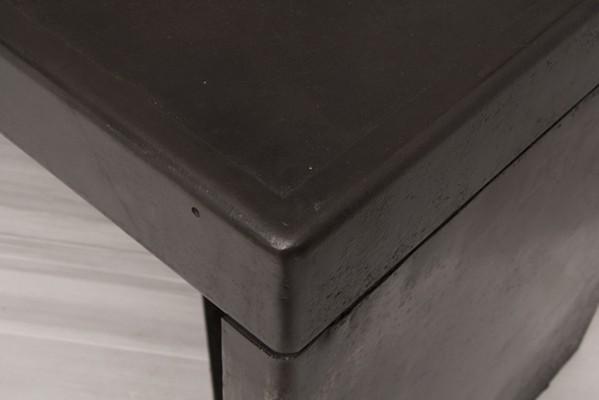 Thirties French Industrial Metal Desk