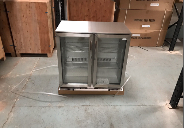 Unused bottle fridge for sale