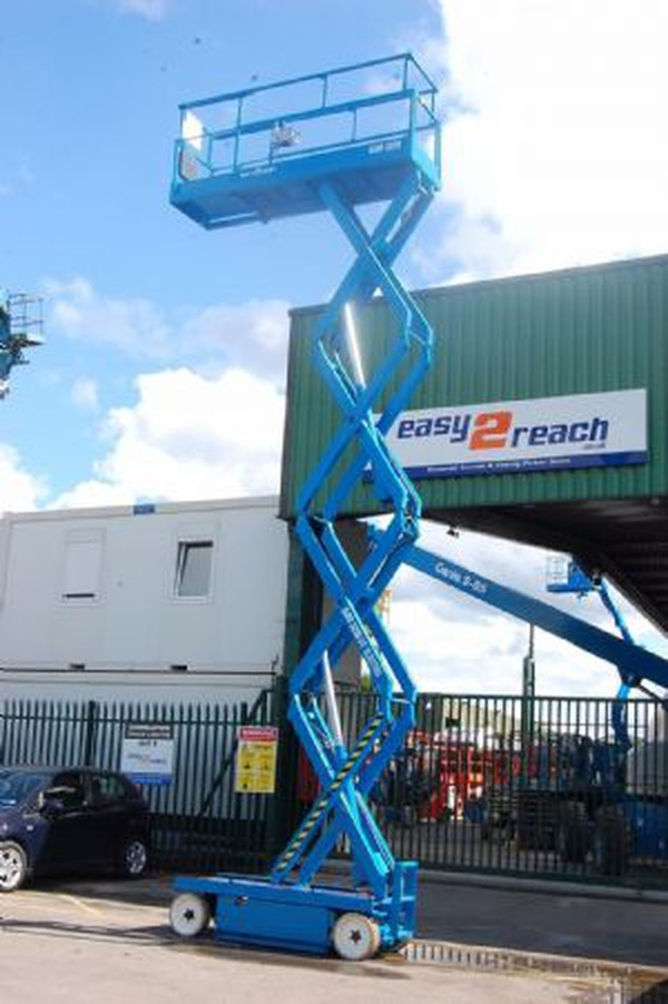 Used Electric Scissor access platform.