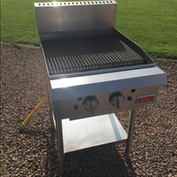 Used freestanding chargrill