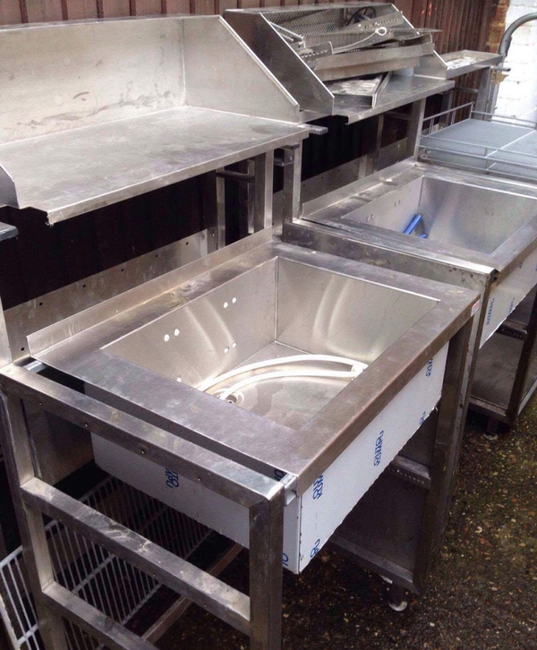 Secondhand buffer sink for sale