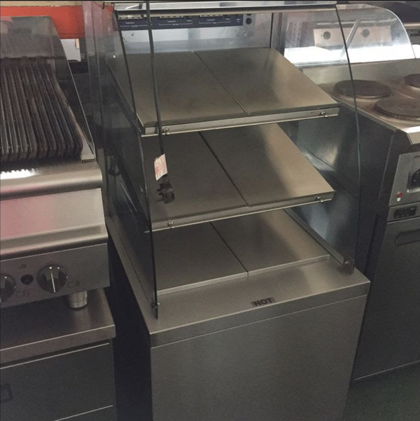 Secondhand heated shop display