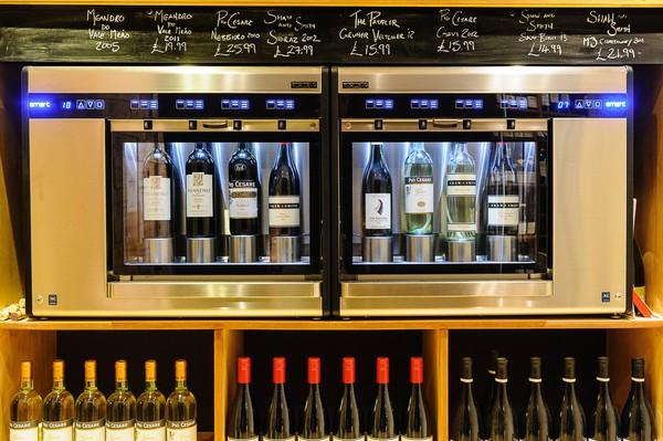 Enomatic wine dispenser