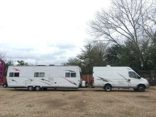 Hair and make up trailer for sale