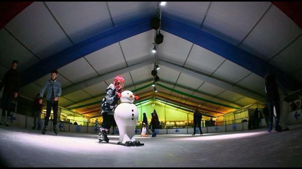 Ice Rink Indoor or Outdoor