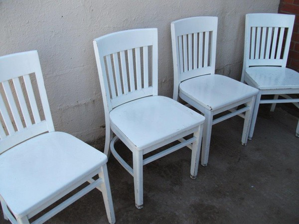 Dulux White chairs for sale