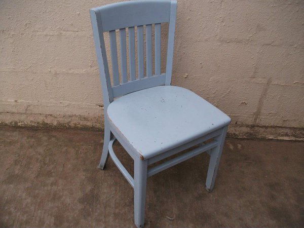 Used Grey charleston chair for sale