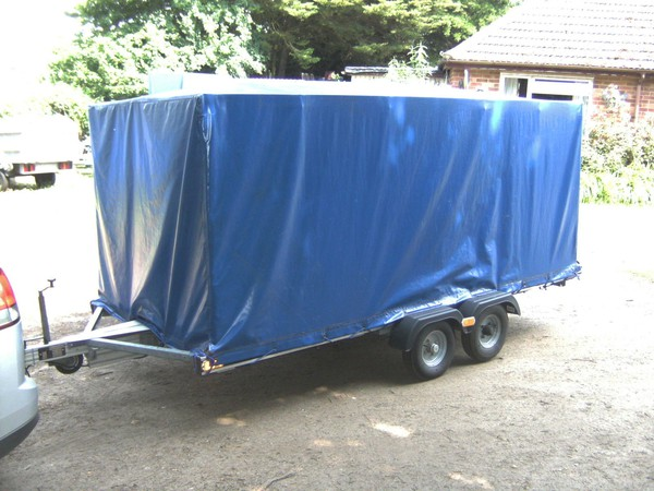 PVC covered trailer