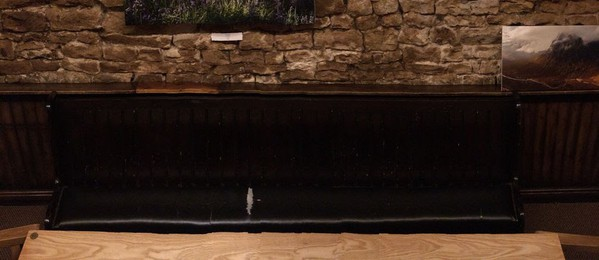 3m Bar / Church Pew
