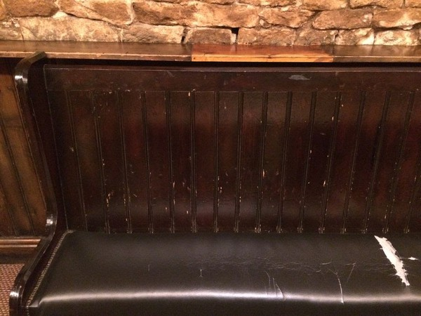 3m Church Pew / Pub Bench