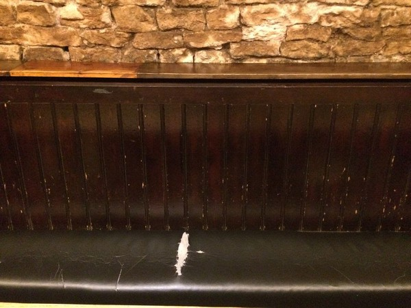 3m Church Pew / Pub Seating