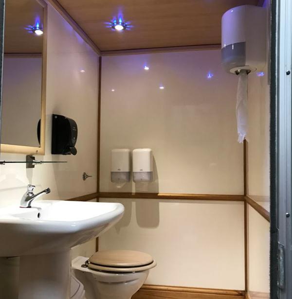 1+1 Toilet trailer for sale