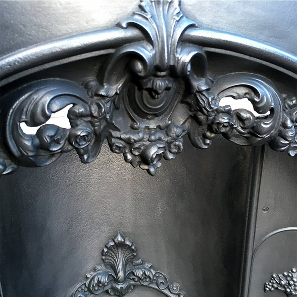 iron cast fireplace for sale