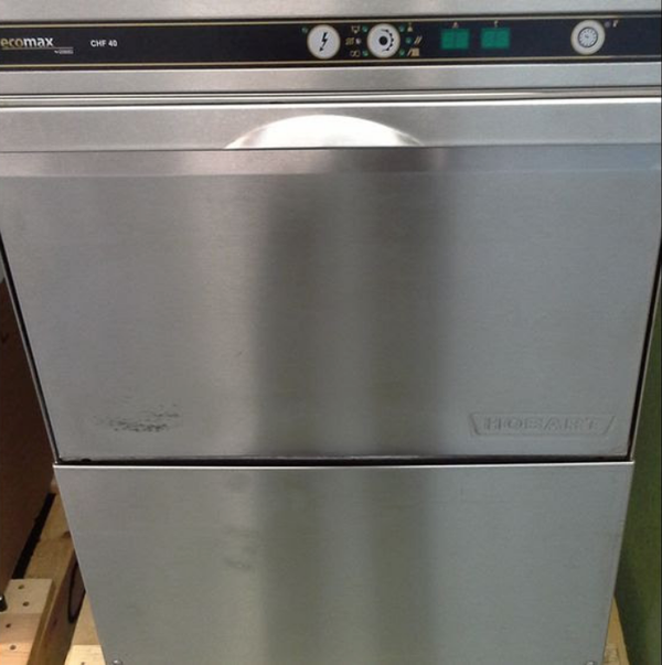 sold hobart ecomax chf40 commercial dishwasher
