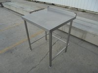 Small square stainless steel table for sale