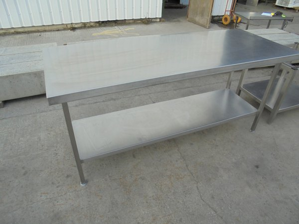 Commercial kitchen table