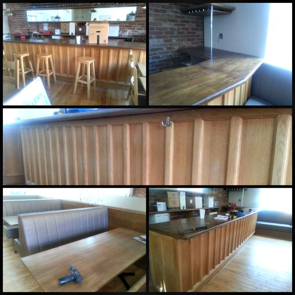 Secondhand bar unit lot