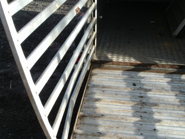 Selling 10' ifor williams livestock trailer