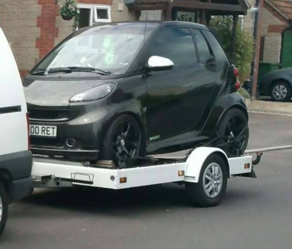 Smart car trailer for sale