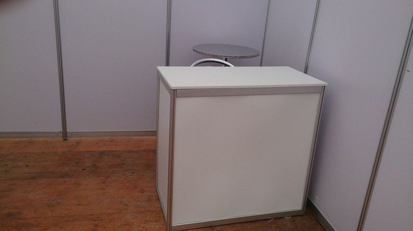 Ex hire exhibition counter