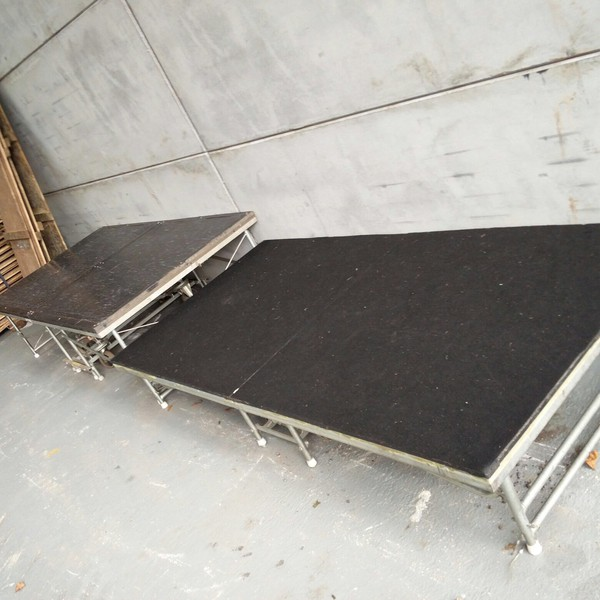 Syco Folding Stage Sections