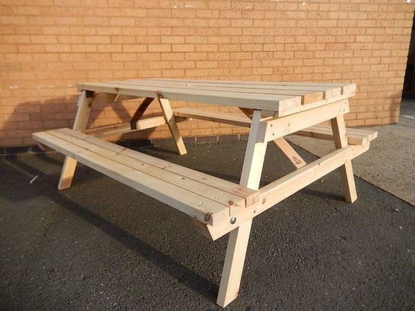 Picnic Benches 6 Person Seater